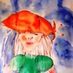 tekening bij verhaal De dochter, Huis van Duif