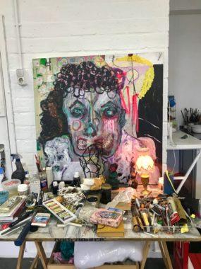 afbeelding bij interview en werk Saskia Tannemaat