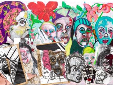 afbeelding interview en werk Saskia Tannemaat