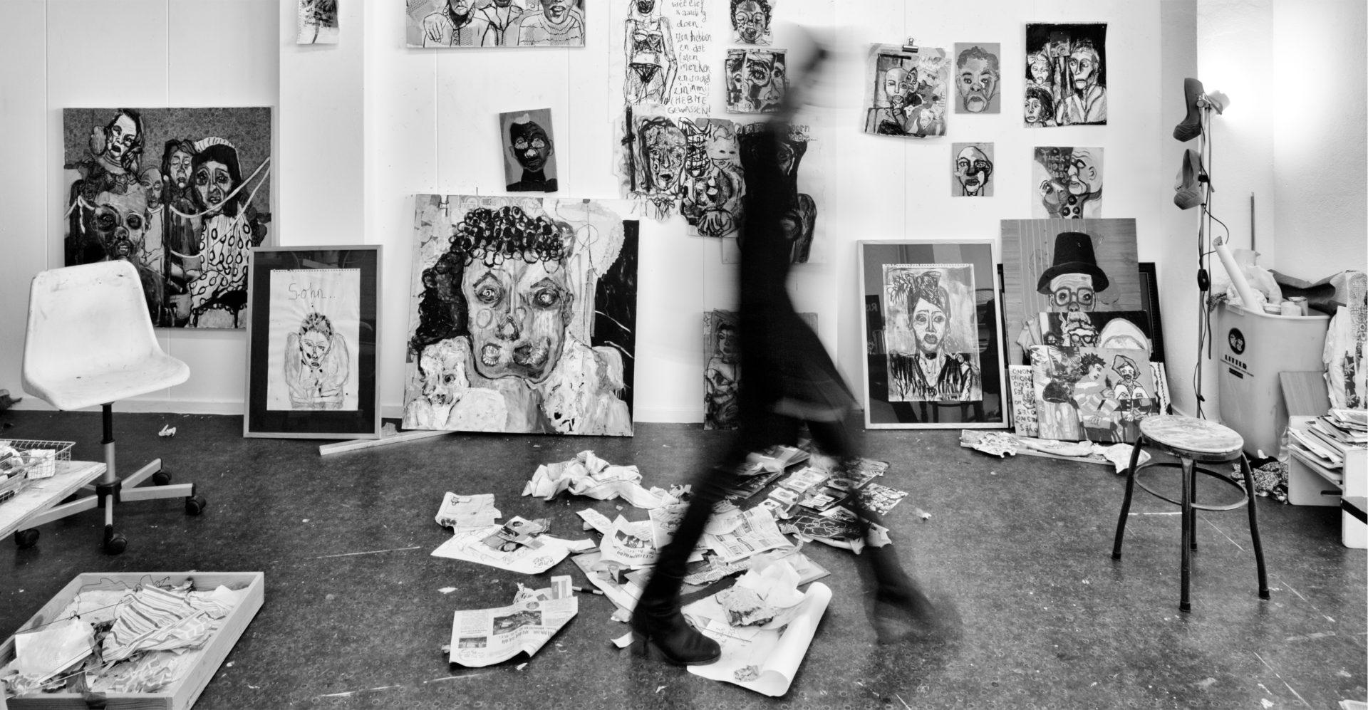 interview kunstenaar Saskia Tannemaat
