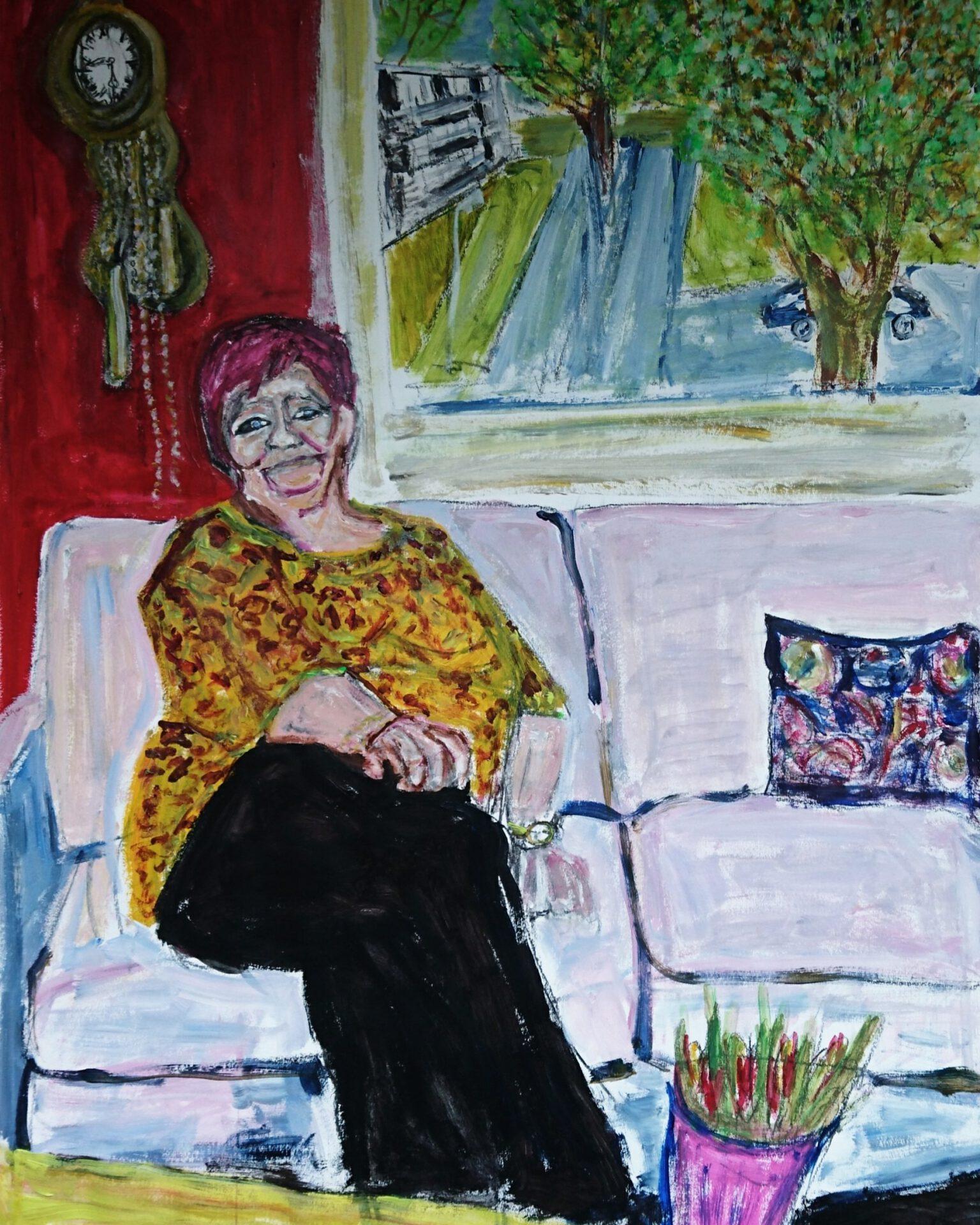 portret Tineke voor opdracht Staedion